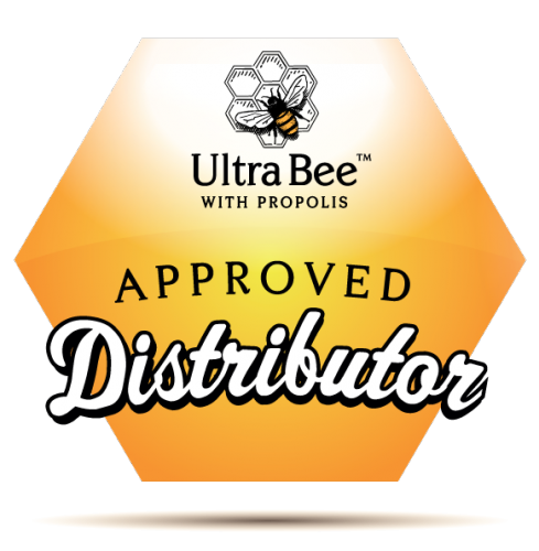 Approved Distributor Icon with Shadow