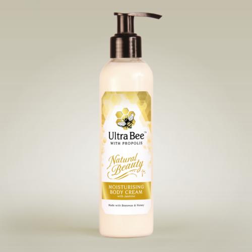 Natural Beauty Moisturising Body Cream 200ml